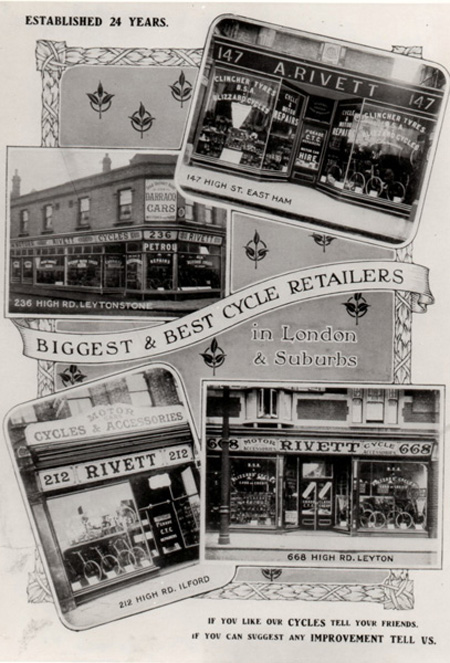 The four Shops 1914