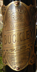 Buckley badge, click on image for larger detail