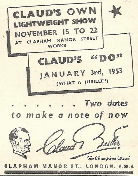 C B advert for 'Do' 1953 Click for larger images