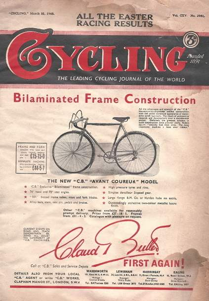 Cycling cover 1948