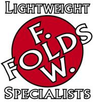 Reproduction F W Folds headbadge