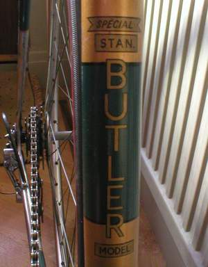 Specific seat tube transfer for the Allin SB (Stan Butler) Special model