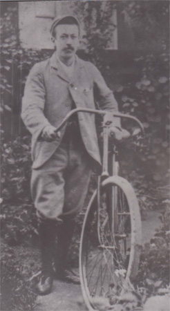 Arthur Hawkes, founder of Hawkes Cycles C.1912