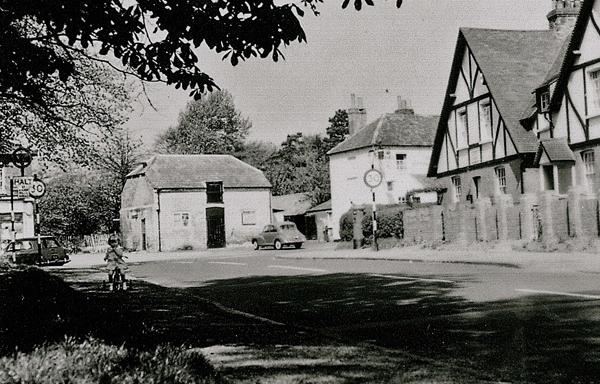 Jack Hearne's workshop in Stoke Poges