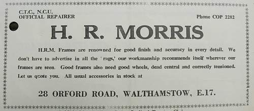 H R (Dick) Morris photo-archive