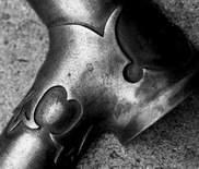 H R Morris Custom stem and lug in 'raw' state (Images Peter Marlow)