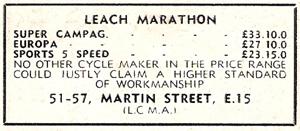 Advert July 1960