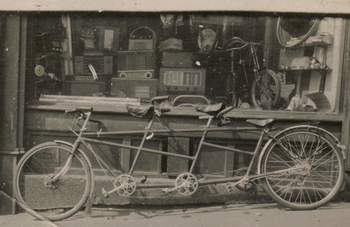 Walter Ormsby's Store - disorderly, but everything that the enthusiast could require.