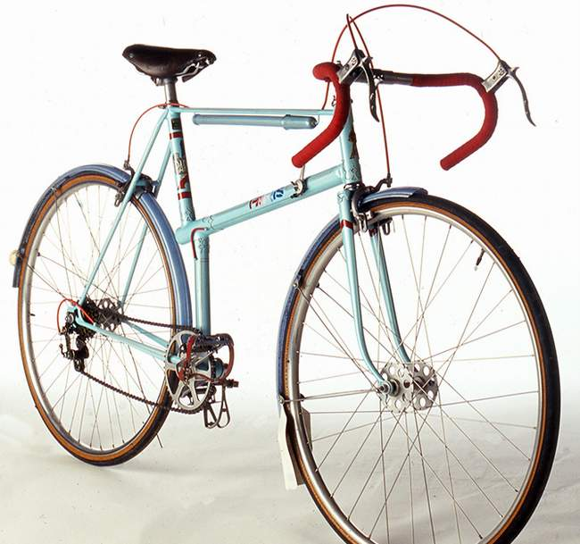 A Galibier with the later style fork crown which would date it from the 1951-53 period Thanks to Andrew Rowland