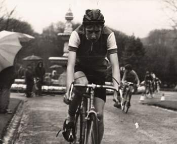Phil Staples circuit racing on the Parsons