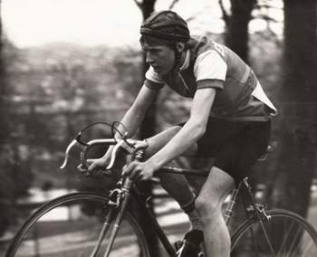 as a junior, Manchester 1981 - finishing in 5th place