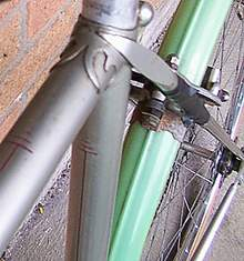 No 1 style seat lugs and seat stay top. The No 2 has a 'stick', Ephgrave style on the top of the stay