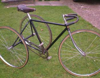 1930 Selbach fixed wheel trike