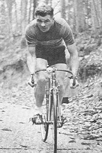 Alan Shorter seen hill-climbing