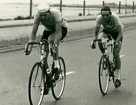 Trevor smith and Frank Ward - Milk Race, 1959