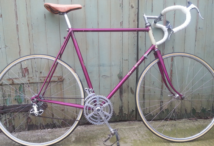 1191 1964/5 Magenta Flamboyant Frame in photo. Cyril Wren only transfers