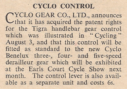 Cycling 22 Sept 1949