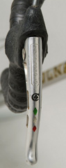 Brake lever pantographed with Campagnolo, Colnago logo and Italian tricolour