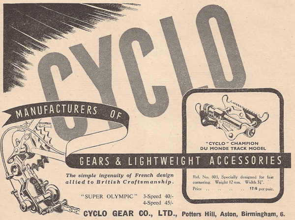 Cycling' 8 September 1949