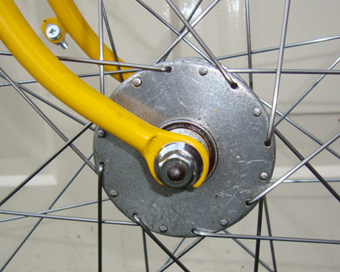 Harden 'Bacon Slicer' hubs - no drillings for lightening