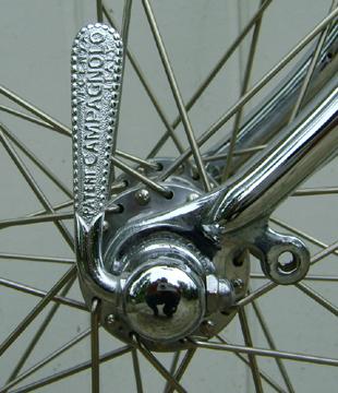 Campagnolo 'straight' QR lever