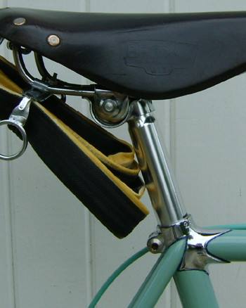Seat cluster showing start of frame number on lug