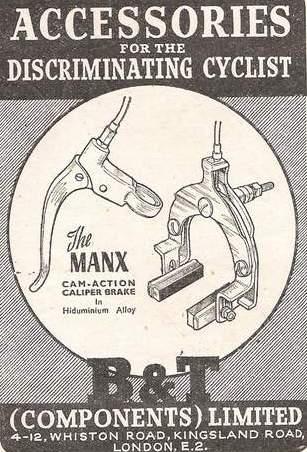 Advert dated 3 September 1947