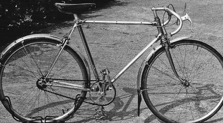 Bert Brighty's Caminargent with all-alloy components