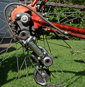 Early Campagnolo Record changer