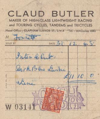 Original invoice dated 30.12.1948