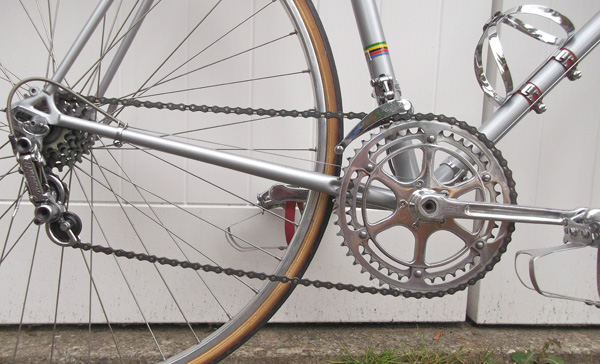 Campagnolo drive chain - see below for chainset detail