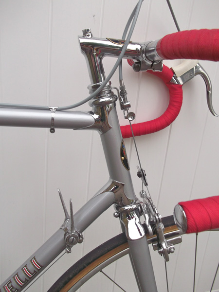 Cinelli 'Wolf Ear' lugs and sloping fork crown
