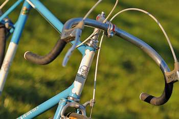 Pico stem with Bailey bars and drilled levers