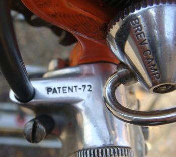 Patent 72 Nuovo Record gear