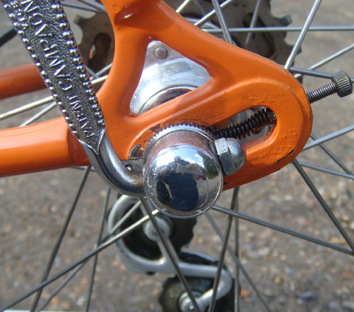 Long type Campagnolo rear ends with straight Q R levers