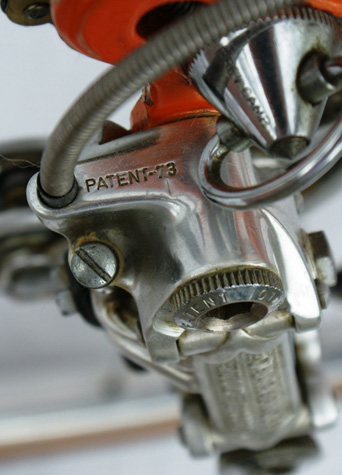 Patent 73' Campagnolo rear changer