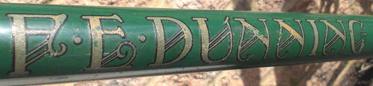Down tube detail