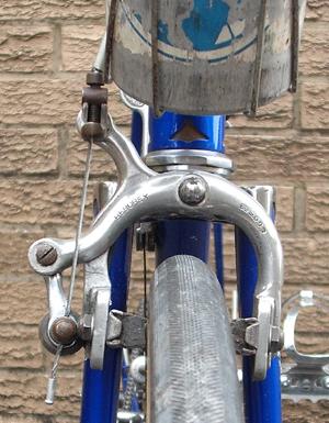 Beborex Brake on Ken's race-winning machine