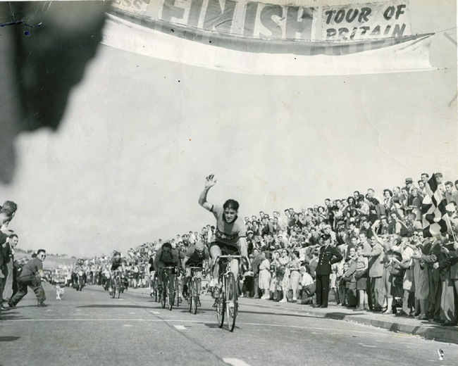 Ken heads nine riders to another of his three stage wins, this time at Weymouth