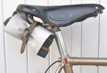 Classic Frejus seat cluster with highlighted milling and Campag twin-bolt seat pin