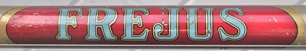 Down tube panel in original paint