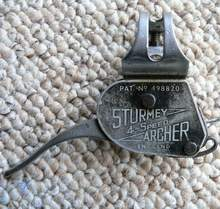 Early Sturmey lever with long