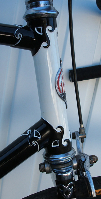 Head and plated RJB fork crown