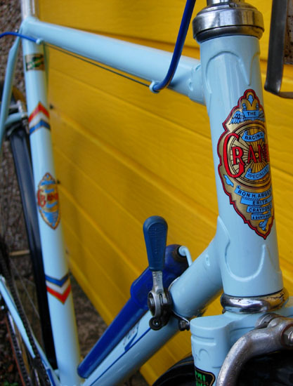 Granby patented taper, seat and down, tubes and hand-cut lugs
