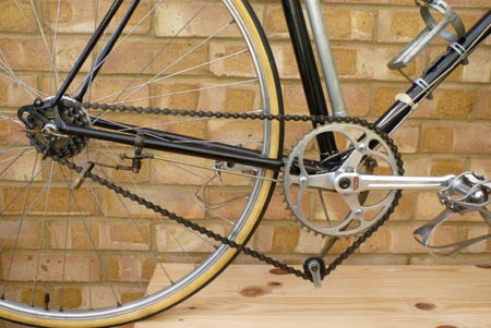 Lytaloy cranks and Osgear with second cable to detension arm