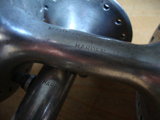 Mark Hudson has sent images of his very rare small-flange