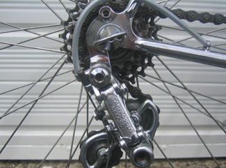 LJ Simplex rear ends with Campag Record gear