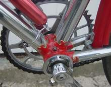 BB also showing Chater chainset