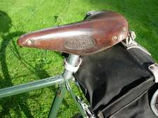 Brooks B17 with oval badge