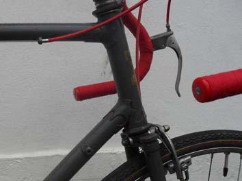 Adjustable stem and early GB Hiduminium levers